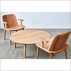 Outdoor Wooden Table And Chair