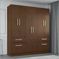 Wooden Door Wardrobe