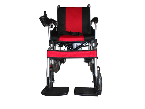 EVOX WC-102M with Mag wheel Foldable Dual Operation power/ electric Wheelchair