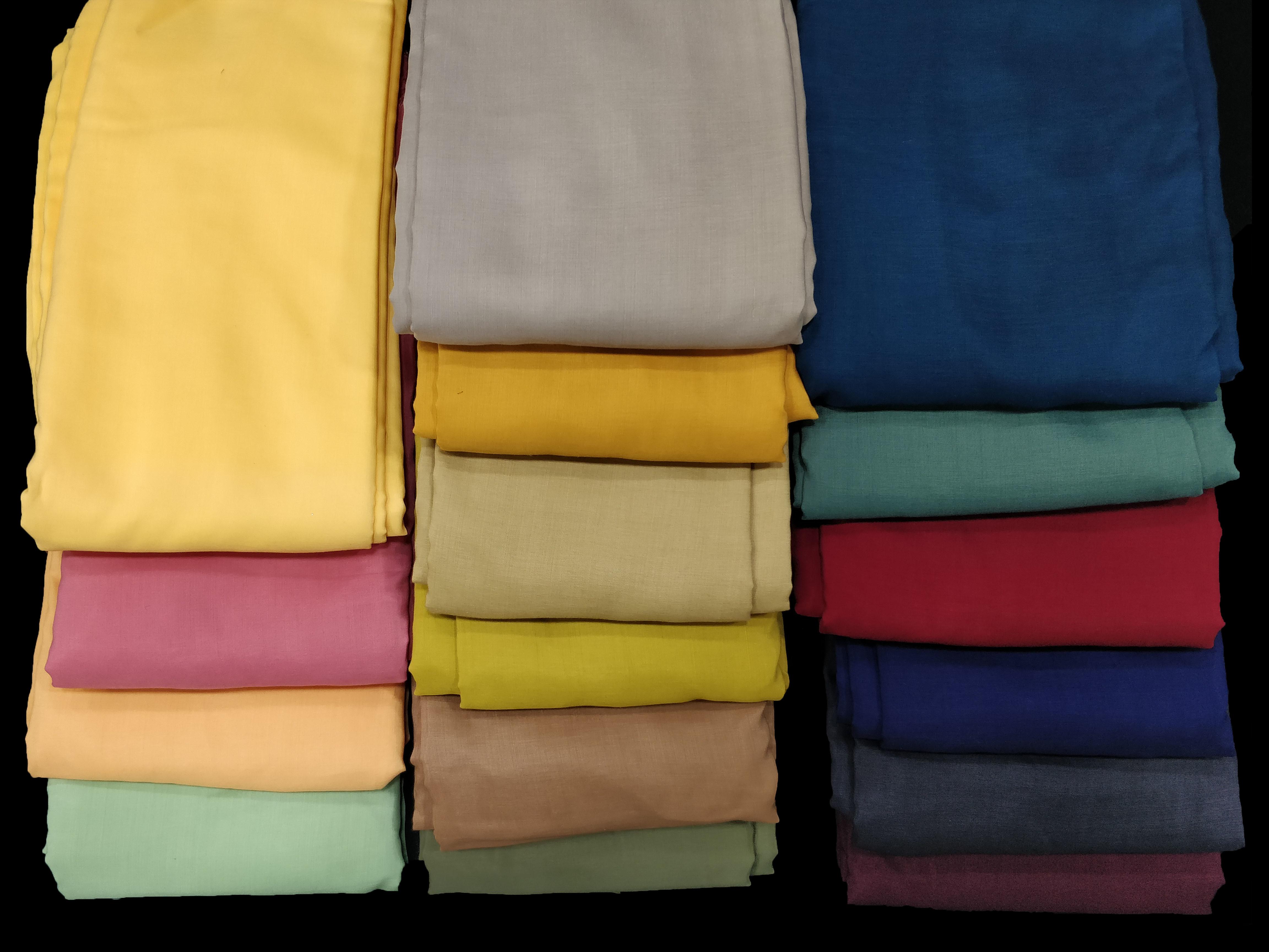 Polyster Muslin Fabric