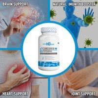 Curcumin 95% + Piperine 95% - 60 Veg capsules