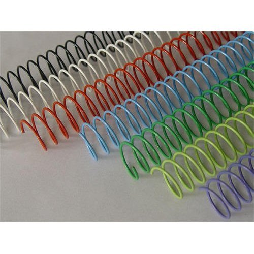 Nylon Coated Color Spiral Binding Wires