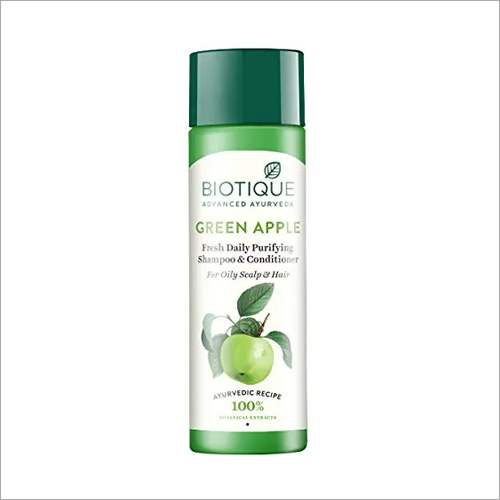 Biotique Green Apple Shampoo And Conditioner