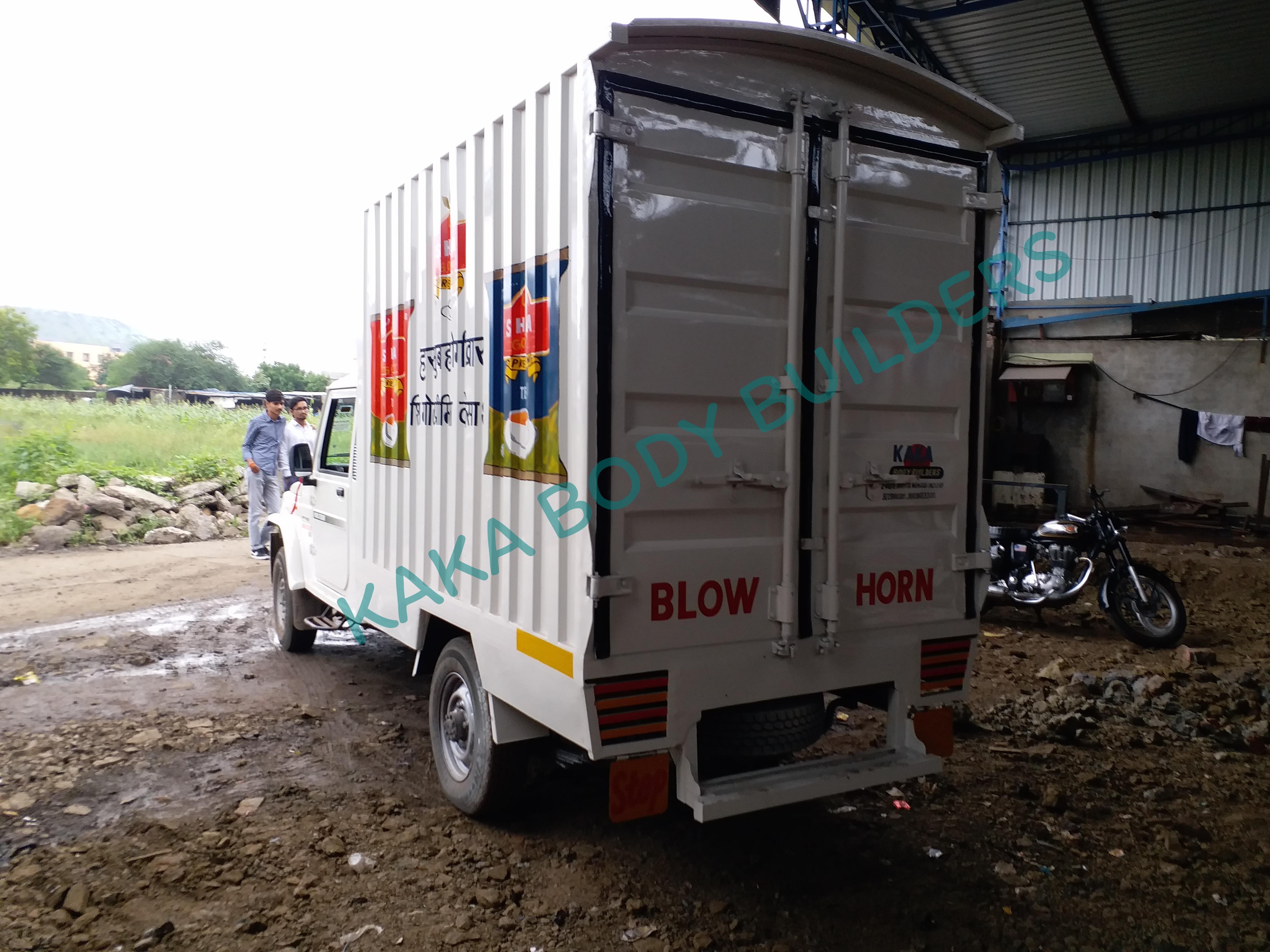 Bolero Container