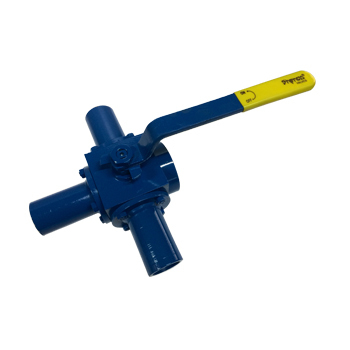 3way Extended Nipple Ball Valve