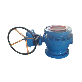 2 pc Gear Operated Ball Valve