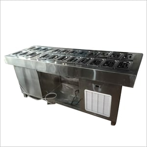 Stainless Steel Salad Bar Counter