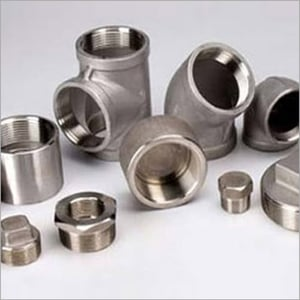 Nickel Alloy Threaded Forged Fitting