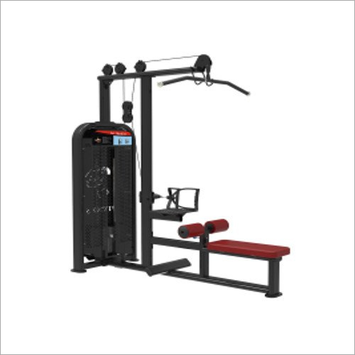 A Lat Pulldown And Seated Row