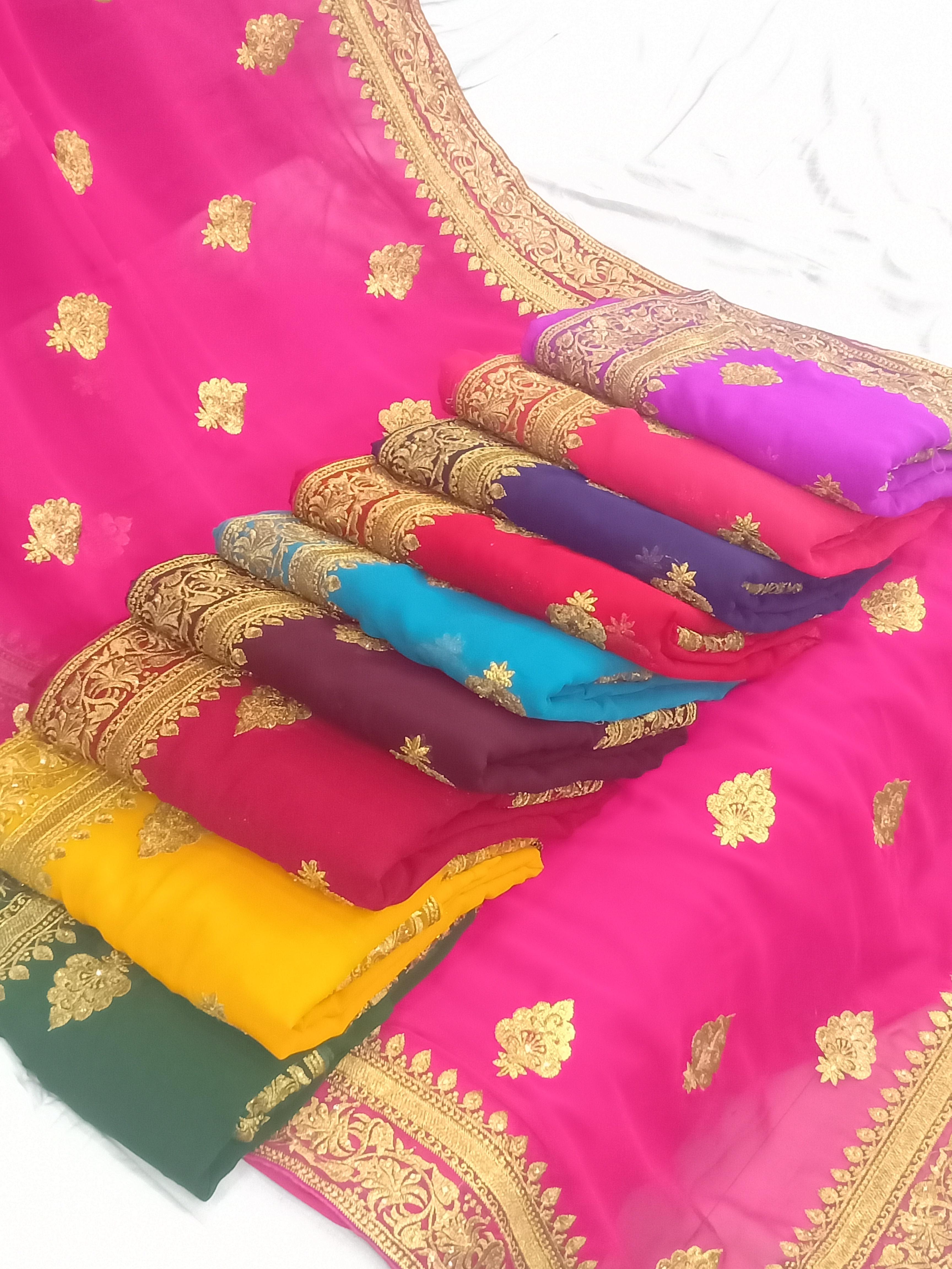Ladies Bridal Saree