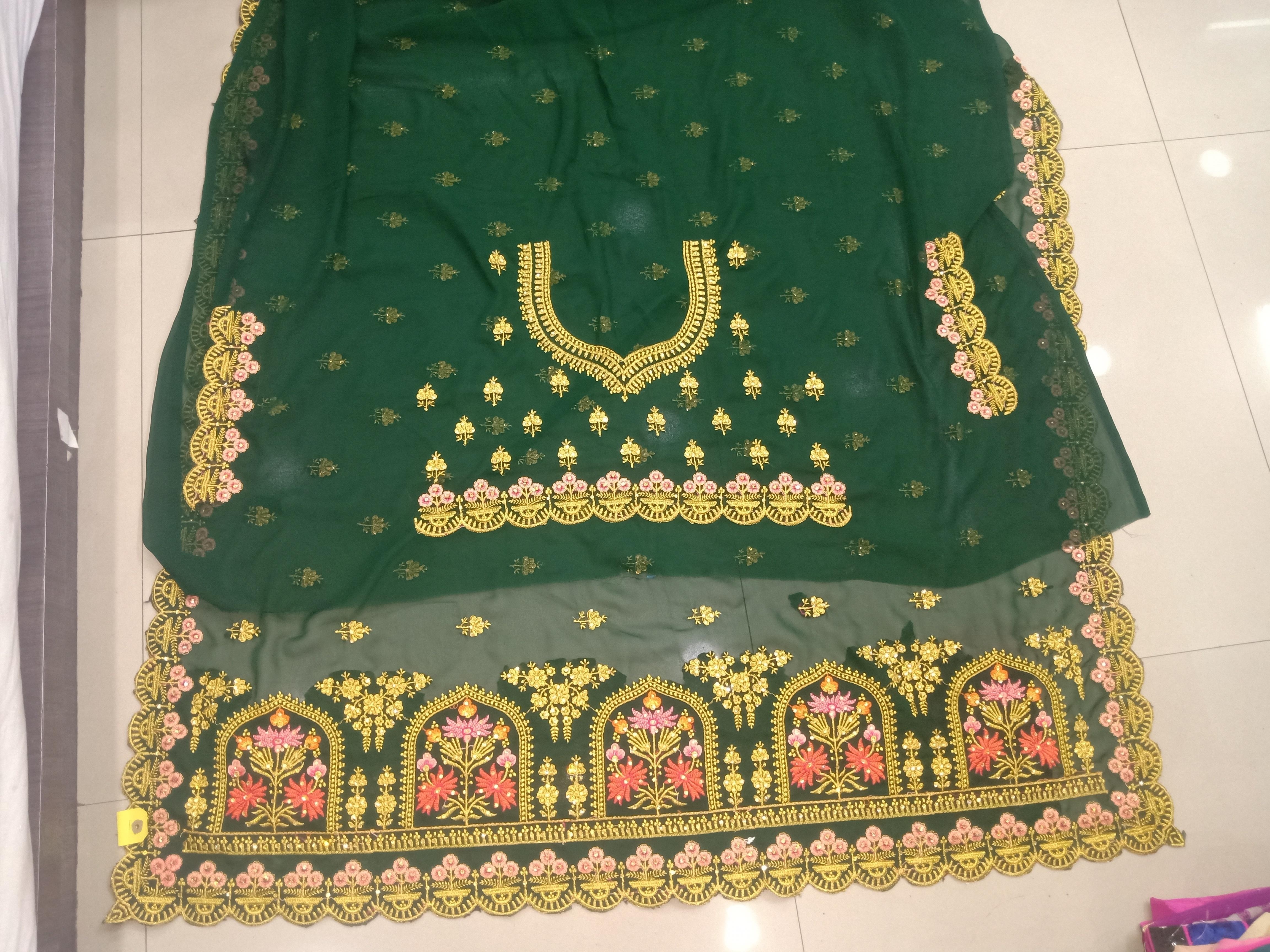 Ladies Modern Bridal Saree
