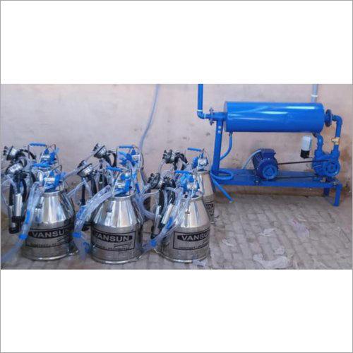 Six Bucket Milking Machine