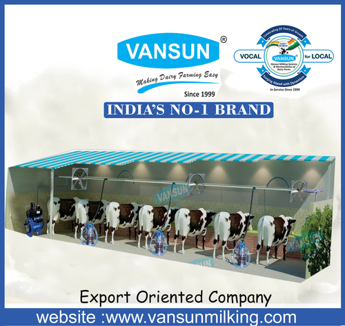 Three Bucket Milking Machine (VM3SS)