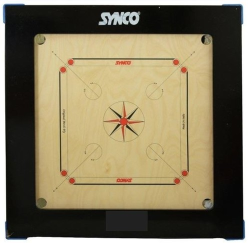 Kd Synco Jumbo Genius Carrom Board English Brich 28mm