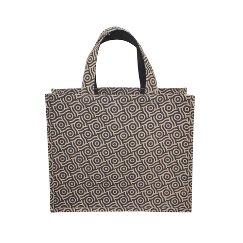 PP Laminated Jute Bag With Jute Handle