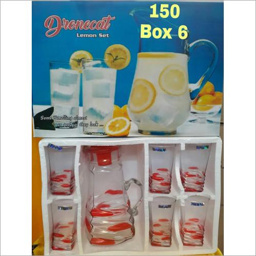 Kitchen Glass Water Jug Set