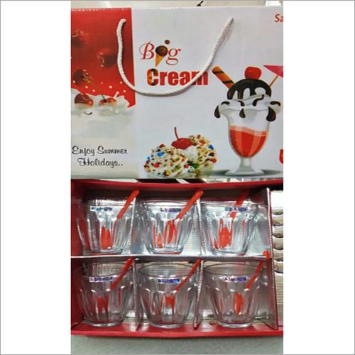 Kitchen Glass Ice Cream Bowl Set