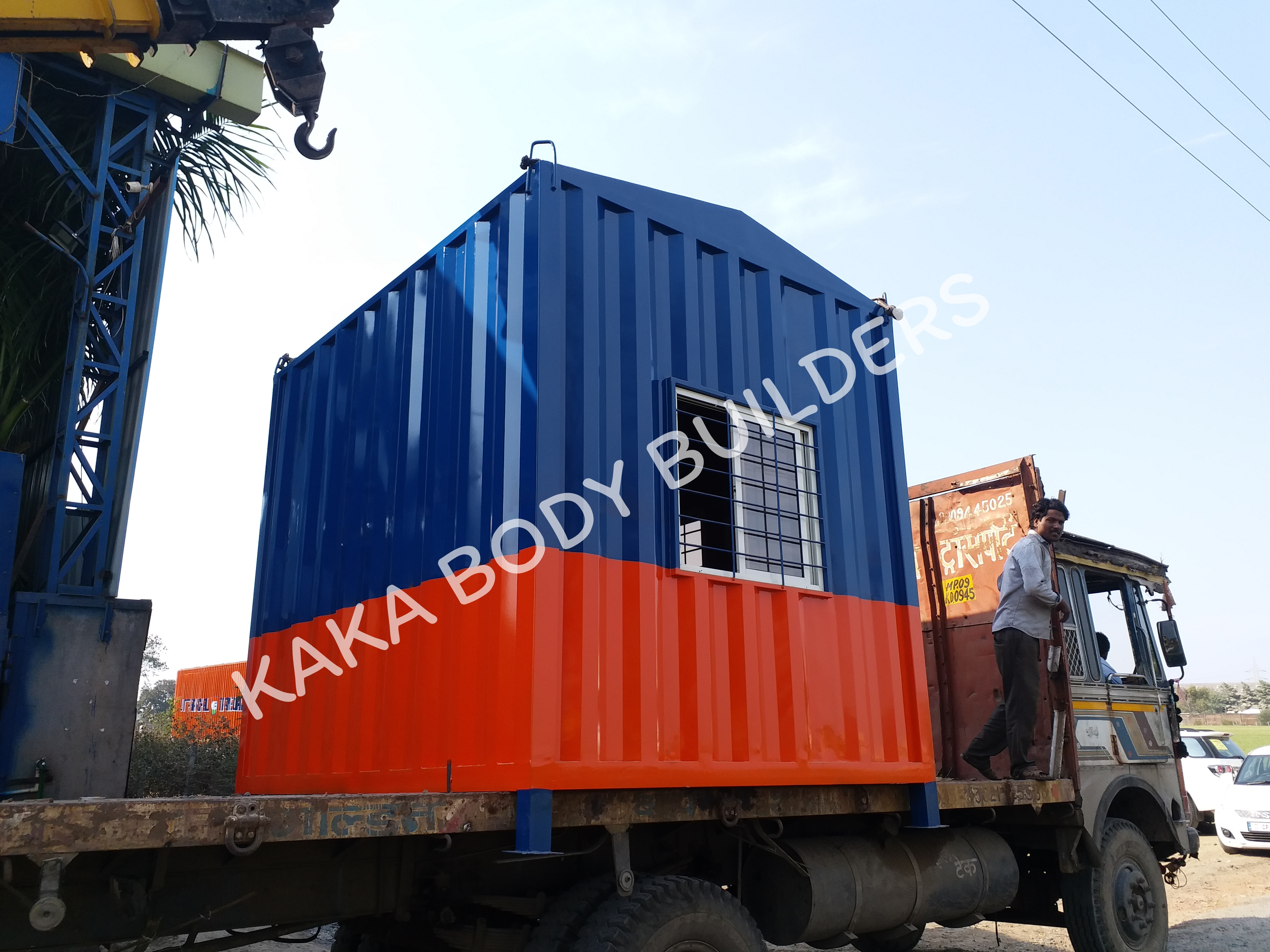 Protable Office Container