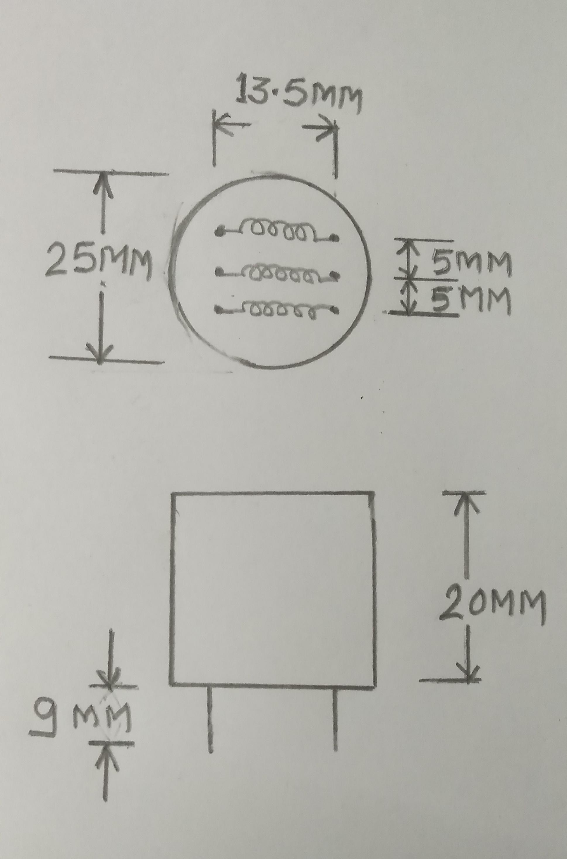 Pulse Transformer 4503/ pulse 4503