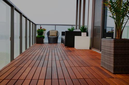 Balcony waterproofing