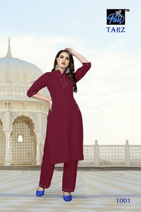 Kurti With Sharara Set