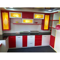PVC Kitchen Modular