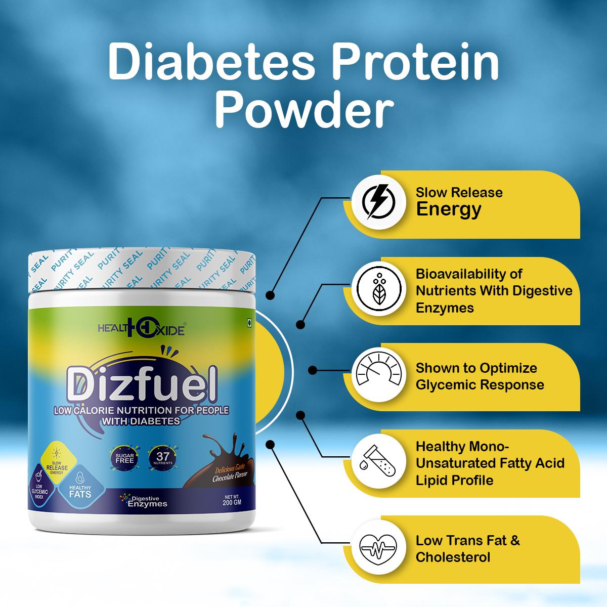 Dizfuel 200gm Chocolate Flavor