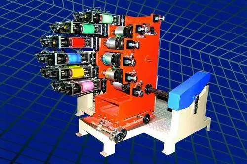 Six Colour Fully Automatic Dry Offset Printing Machine