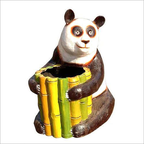 FRP Panda Dustbin