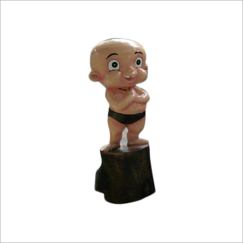 FRP Raju Cartoon Statue