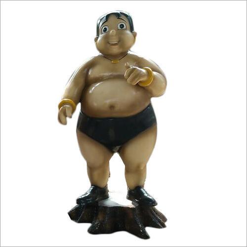FRP Kaliya Cartoon Statue