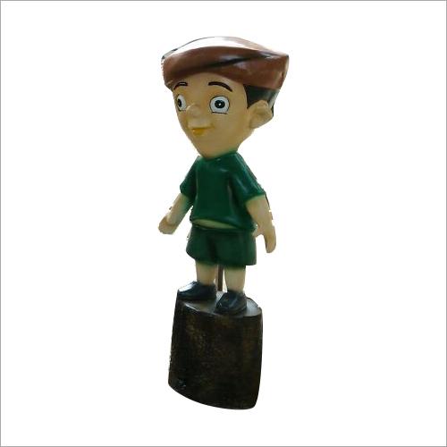 FRP Dholu Cartoon Statue