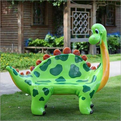 FRP Dinosaur Chair
