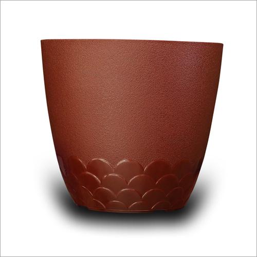 Brown Flora Pot