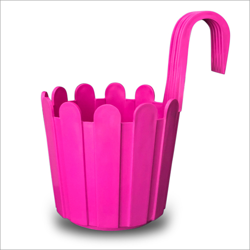 Pink Fence Hook Pot