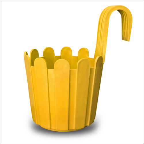 Yellow Fence Hook Pot