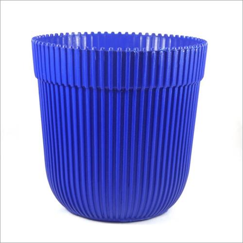 Blue Rim Pot