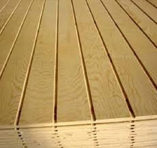Grooved Wooden Slates