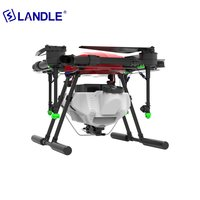 NSA410 10L Agricultural Fertilizer Drone With 4-wing