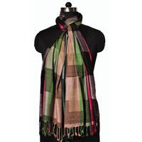 Viscose Multi Check Stole