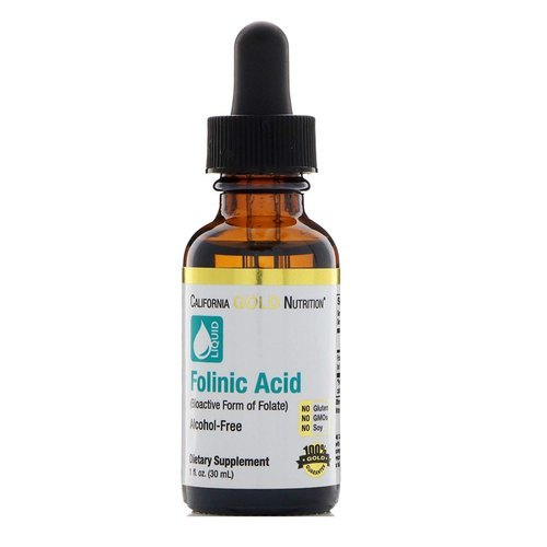 California Gold Nutrition Folinic Acid