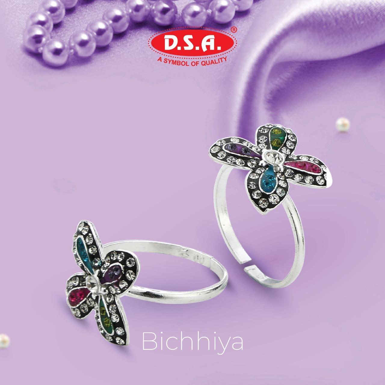 Bridal Silver Toe Ring