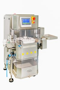 Revolving Checkweigher For Small Bottles