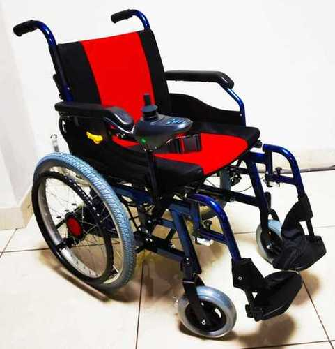 Lightweight portable electric wheelchair