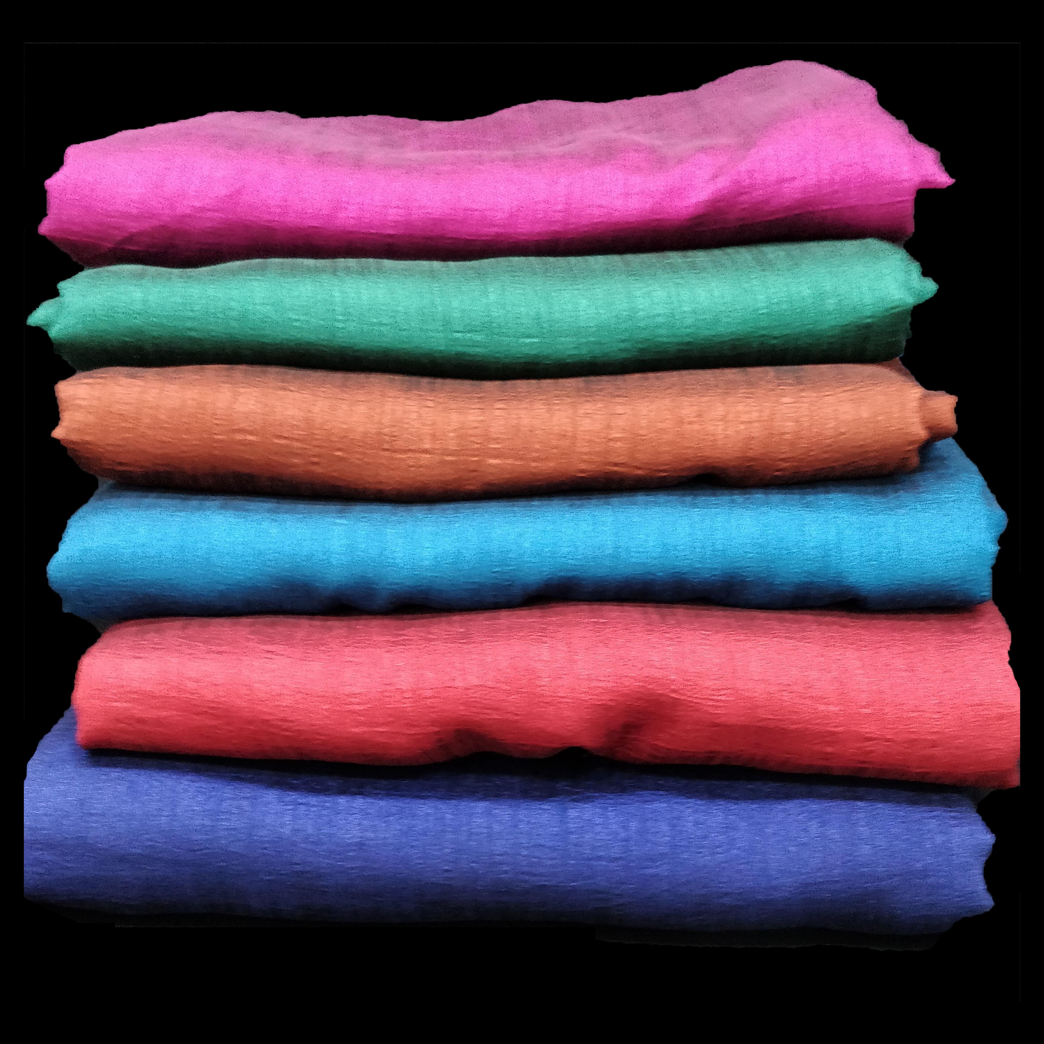 Vichitra Plain Fabric