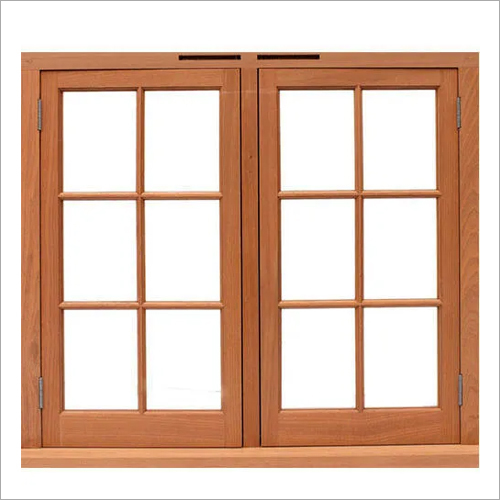 Wooden Hardwood Window Frame
