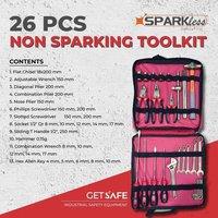 Sparkless Non Sparking Toolkit-I-26 pcs TKI26A