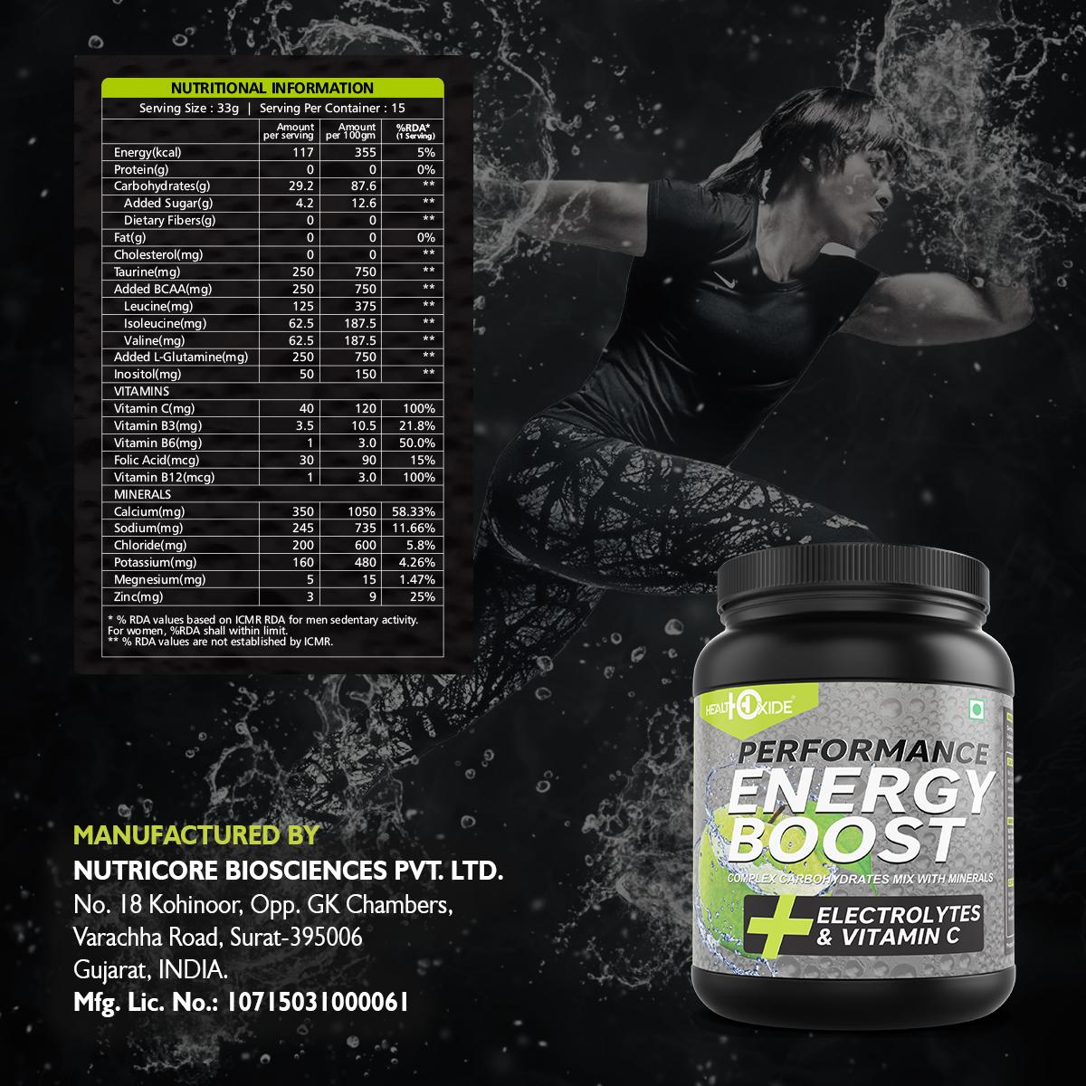 Energy Boost Powder