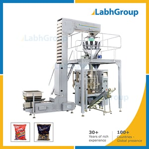 Pouch Packing Machine For Biscuits, Lollipops, Chocolate