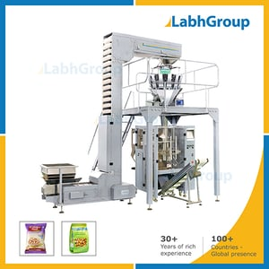 Automatic Pouch Packaging Machine For Snacks, Nuts